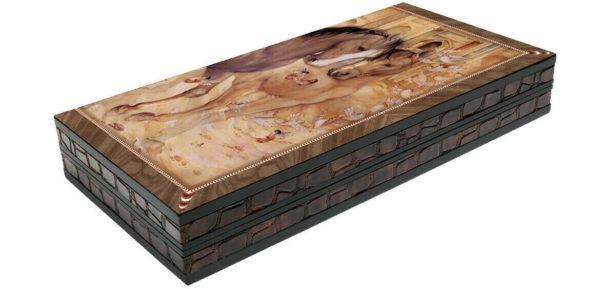 backgammon board stallion yenigun