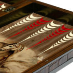 "Classic Range Backgammon Set ""Stallion"" – 20″"