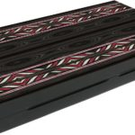 "Classic Range Backgammon Set ""Trendy Black""- 20″"