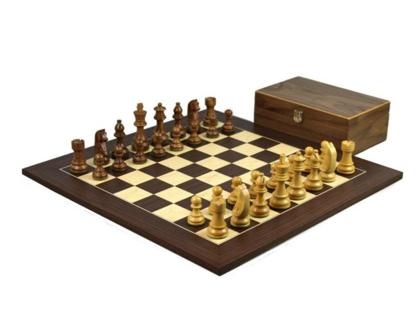 macassar chess set sheesham german staunton chess pieces