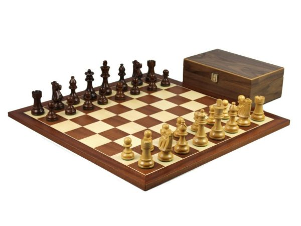 mahogany chess set french knight chess pieces mahogany board