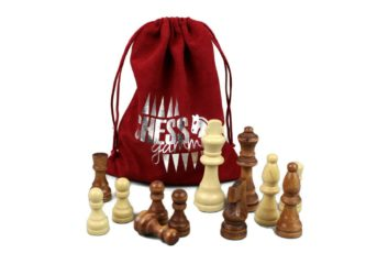 "Chess Wooden Pieces ""Ashwood"""