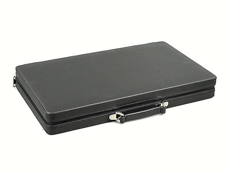 leather backgammon set helena