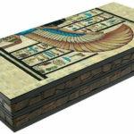 "Classic Range Backgammon Set ""Papyrus""- 20″"