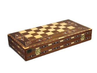 "Premium Range Backgammon Set ""Marbella"" – 2WW13″"