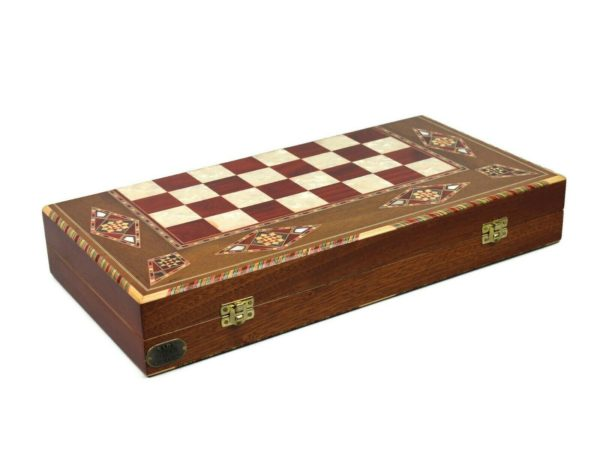wooden backgammon sets middle eastern