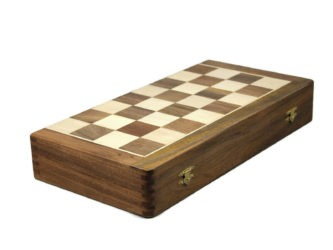 "Original Range Chess Set ""Sheesham Foldable"" – 16″"