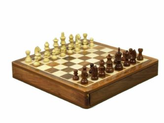 "Original Range Chess Set ""Sheesham Square"" – 14″"