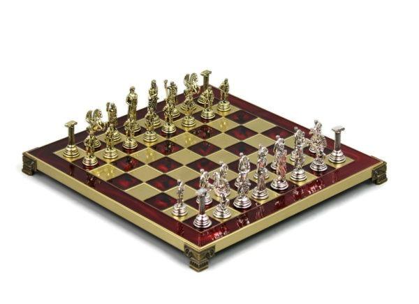 metal chess set marinakis roman empire