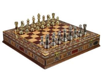 """Premium Range Chess Set """"Ottoman""""- 15″"""