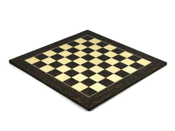 tiger ebony wooden chess board