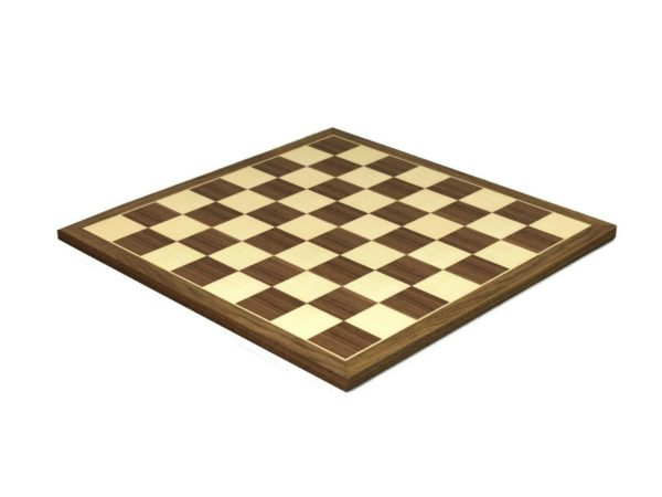 wooden chess board walnut