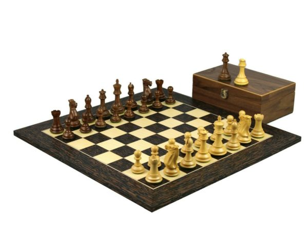 tiger ebony chess set professional staunton chess pieces sheesham