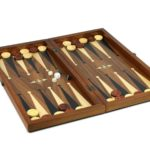 "Luxury Range Helena Backgammon Set ""Woodland"" – 20″ 2243p"
