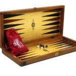 "Luxury Range Helena Backgammon Set ""Primary""- 20″ 2234Y"