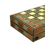 "Luxury Range Helena Backgammon Set ""Vertigo"" – 20″ – A1"