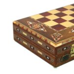 "Premium Range Backgammon Set ""Novelty"" – 2RW13″"