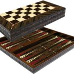 "Classic Range Backgammon Set ""Walnut""- 17″"