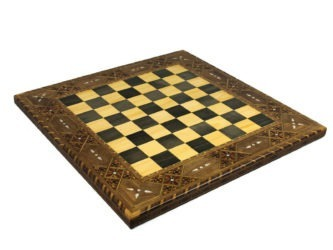 "Premium Range Chess Board ""Dawn"" – CBWL17″"