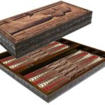 "Classic Range Backgammon Set ""Ancient I""- 20″"