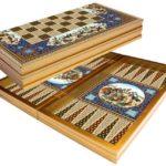"Classic Range Backgammon Set ""Persian""- 20″"