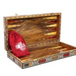 "Premium Range Backgammon Set ""Paramount""- MMX17″"