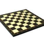 "Classic Range Wooden Chess Set With Pieces and Storage Box ""Walnut""- 14″"
