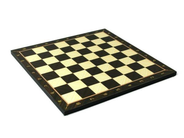 walnut chess board overlay