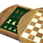 "Original Range Chess Set ""Sheesham Round"" – 12″"