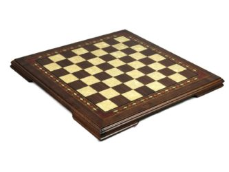 "Premium Range Helena Chess Board ""Walnut Wood""- 23″"