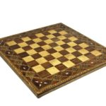 "Premium Range Chess Board ""Timber"" – CWMD18″"