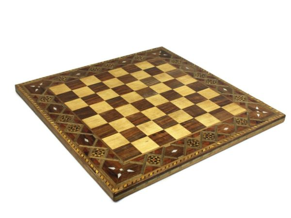 timber wooden chess board