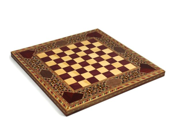 origin chess board wooden