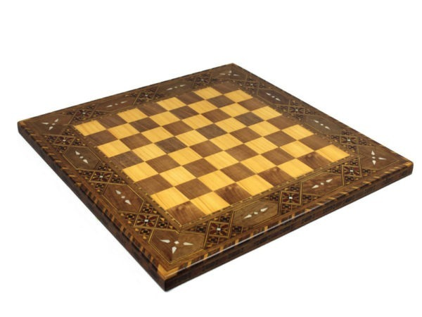 chess board wooden lineage