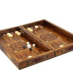 "Premium Range Backgammon Set ""Havana"" -2SRWM12″"