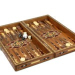 "Premium Range Backgammon Set ""Marbella"" – WW17″"