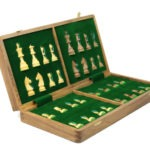 "Original Range Chess Set ""Sheesham Foldable"" – 14″"