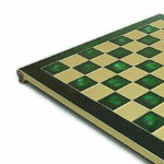 Metal Range Chess Set Emerald Green 15″ – 514G