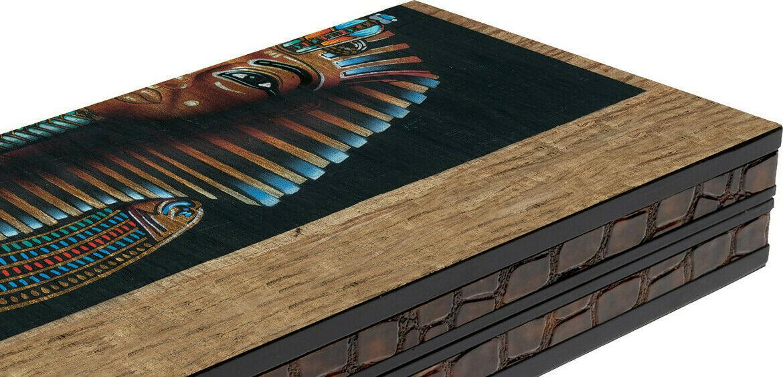 "Classic Range Backgammon Set ""Pharaoh"" – 20″"