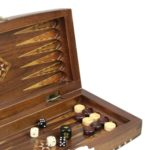 "Luxury Range Helena Backgammon Set ""Barren"" – 12″ 2154W"