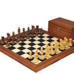 Executive Range Wooden Chess Set Palisander Board 20″ Weighted Sheesham Professional Staunton Pieces 3.75″