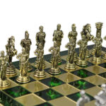 Metal Range Chess Set Emerald Green 11″ – 200G