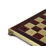 Metal Range Chess Set Ruby Red 11″ – 200R