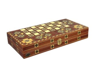 "Luxury Range Helena Backgammon Set ""Arid"" – 20″ A2"