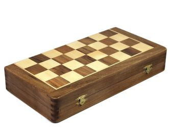 "Original Range Chess & Backgammon Set ""Sheesham 2 In 1″ – 14"""