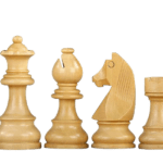 Downhead German Staunton Sheesham Boxwood 2.75″ Chess Pieces