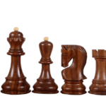 Executive Range Wooden Chess Set Macassar Board 20″ Weighted Sheesham Zagreb Staunton Pieces 3.75″