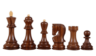Zagreb Chess Pieces 1959 Series Staunton Sheesham Boxwood 3.50″