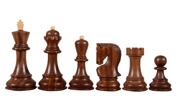 sheesham zagreb staunton chess pieces