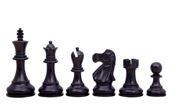 ebonised staunton reykjavik chess pieces